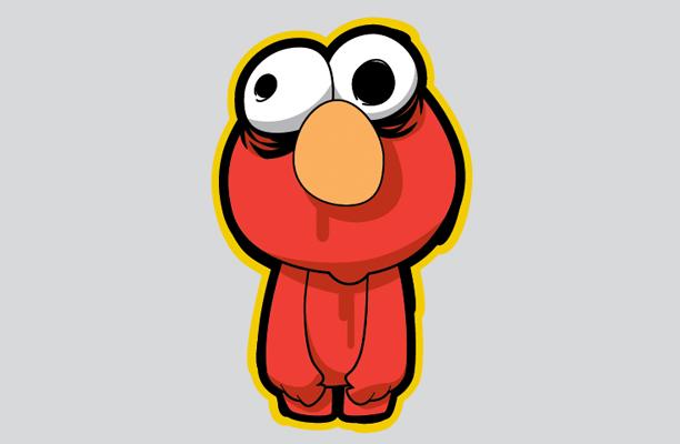 Zombie Elmo
