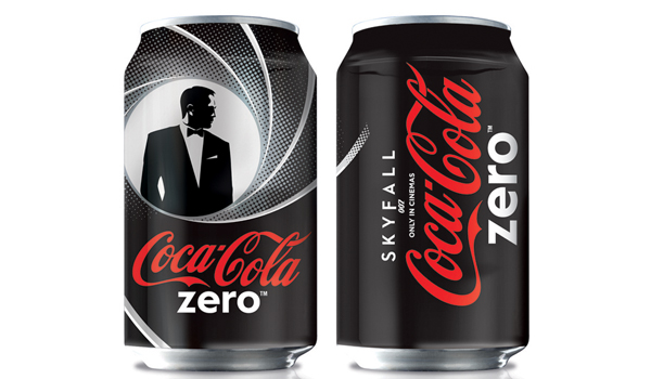 Coca-Cola Limited Edition Bond Cans