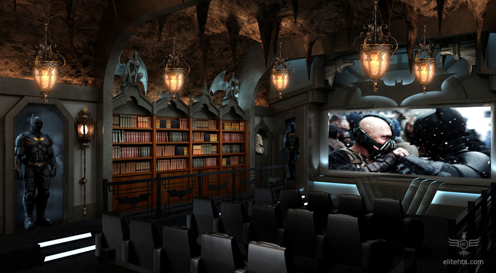 Batman Cave Theater