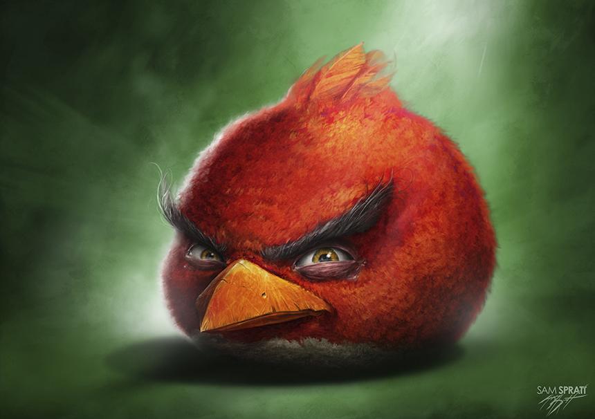 Angry Birds - Sam Spratt