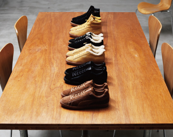 "PUMA ""Takumi"" Fall/Winter 2012 Collection"