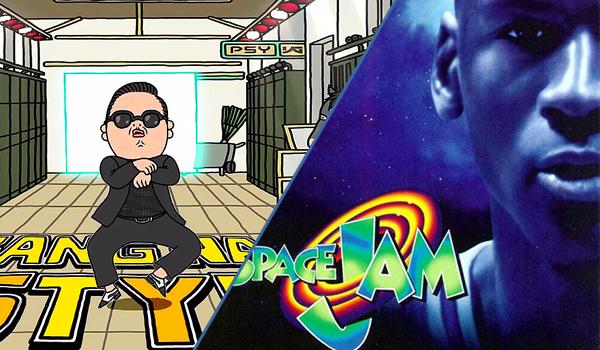 Gangnam Style x Space Jam