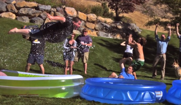 1000 fps Slip n' Slide