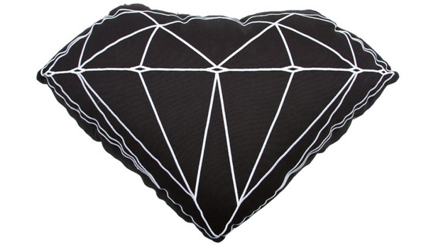 Brilliant Pillow by Diamond Supply Co