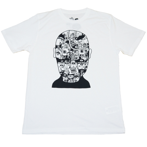 Neuro Disney tee by Might Humble