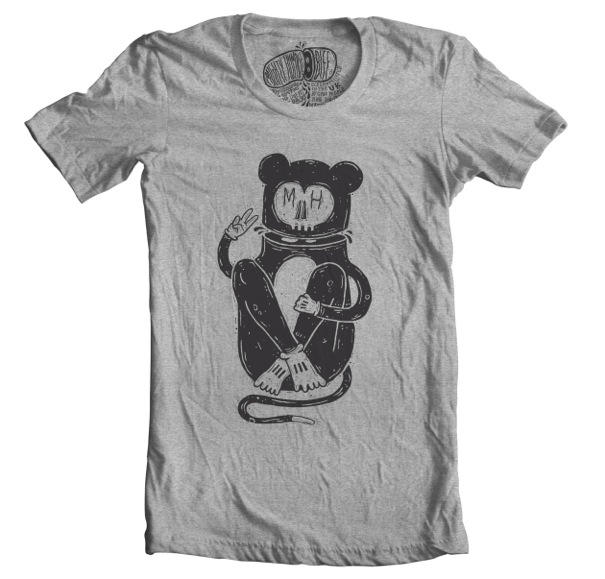 Mighty Humble - Mighty Mouse T-shirt