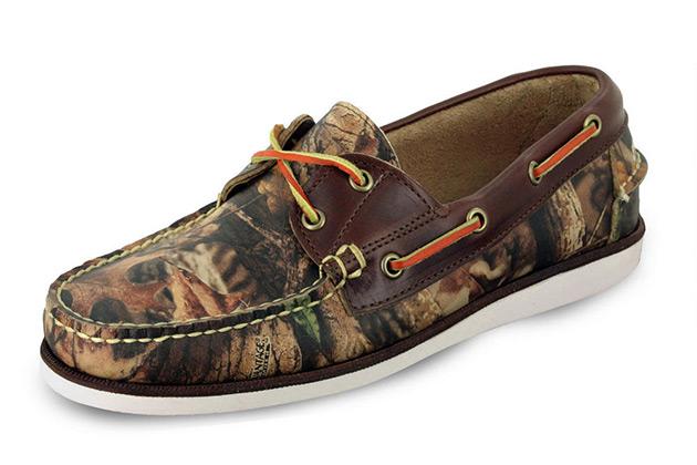Eastland Camo Boat Shoe