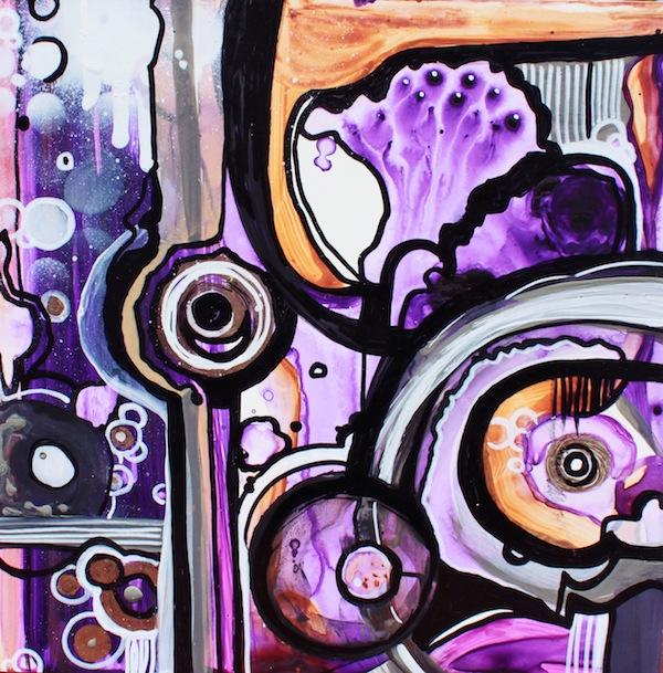 Rachel Reinert - Cyclical Rotations of Purple