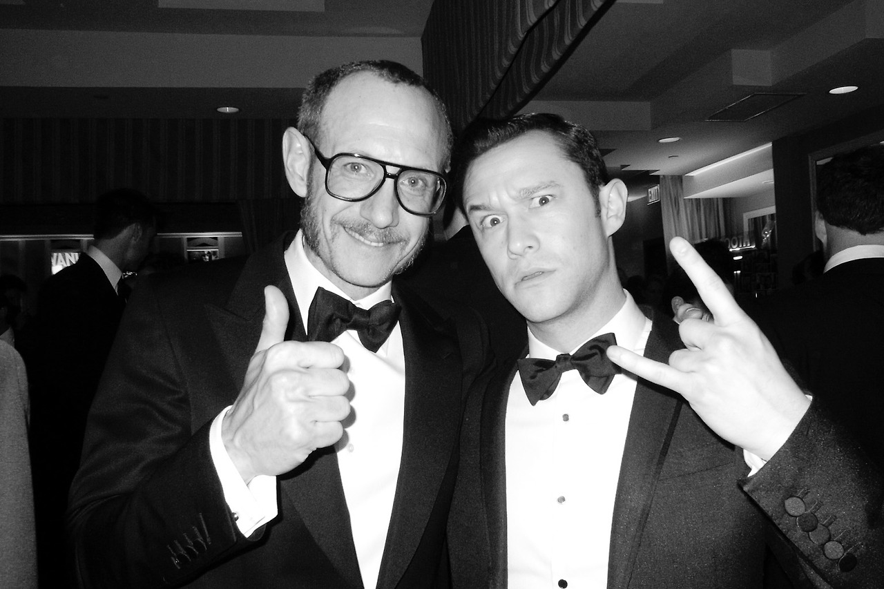 Jon Voight and Terry Richardson at the Academy Awards