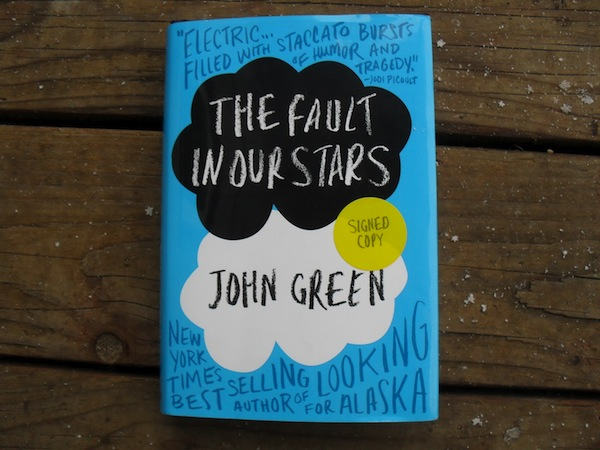 The Fault in our Stars book