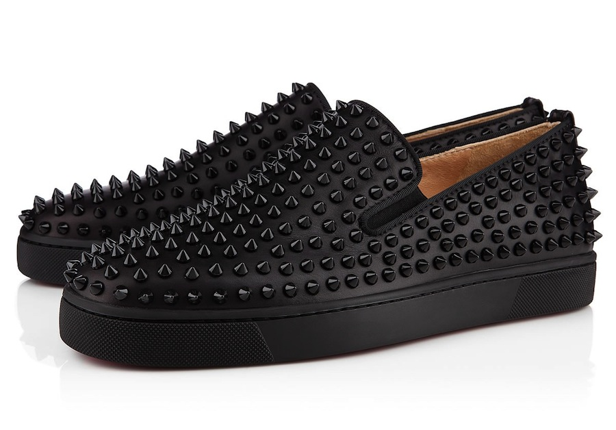 Christian Louboutin Studded Boat Shoes