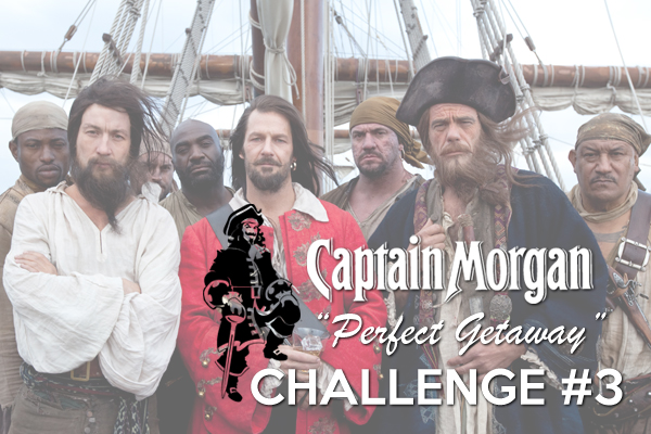 Captain Morgan Perfect Getaway: Challenge 3