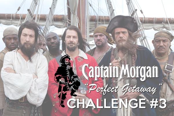 Captain Morgan Perfect Getaway: Challenge 3
