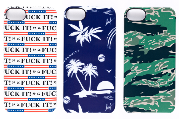 HUF x Incase iPhone collaboration