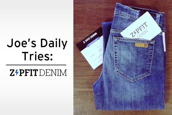 Joe's Daily Tries ZipFit Denim