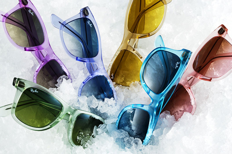Ray Ban Ice Pop Collection