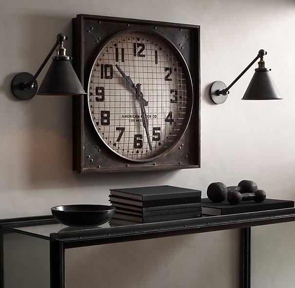 1940s Gymnasium Clock