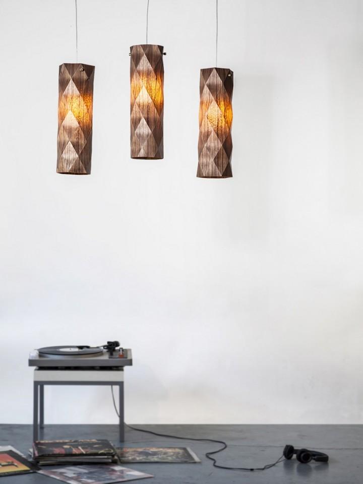 """""""Folded"""" Lighting Series by Ariel Zuckerman"""