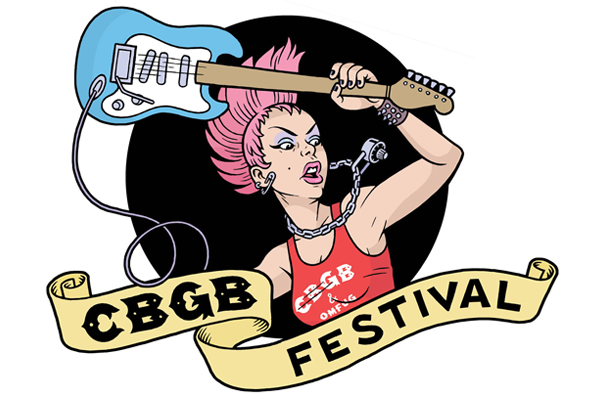 CBGB Festival Logo