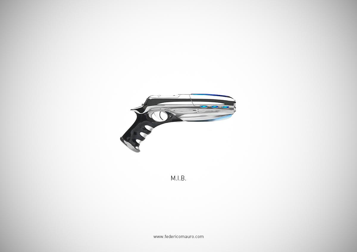Famous Guns by Federico Mauro