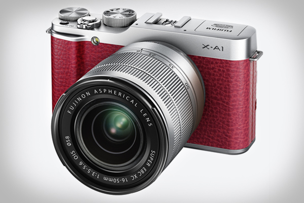 Fujifilm X-A1 in red