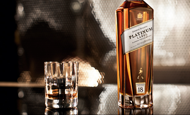 Johnnie Walker Platinum Scotch Whiskey