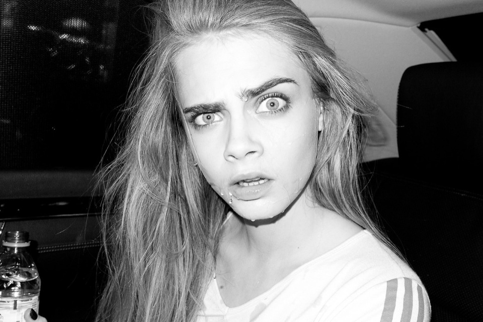 Cara Delevingne at Terry Richardson's Studio