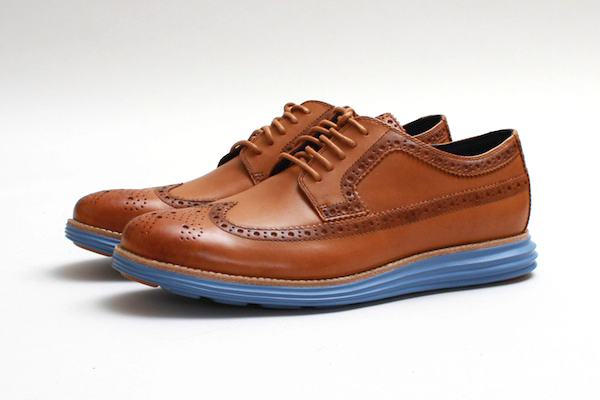 Cole Haan Lunargrand Long Wingtip Camello