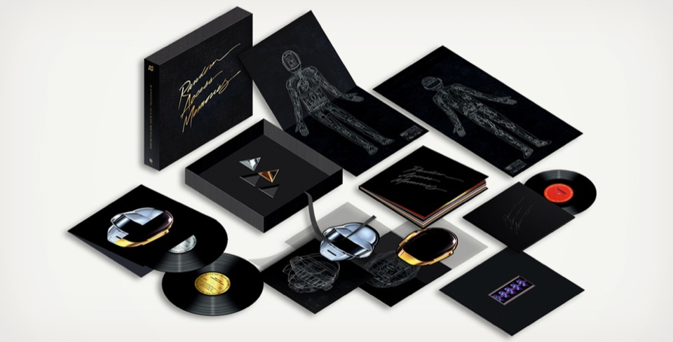 DAFT PUNK 'RANDOM ACCESS MEMORIES' DELUXE BOX SET