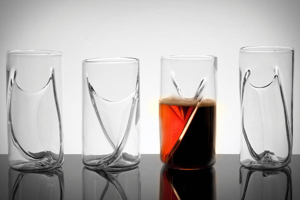 Dual Beer Glasses