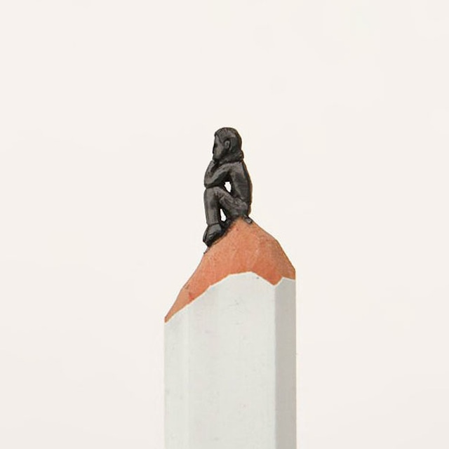 Pencil Tip Sculptures by Diem Chau