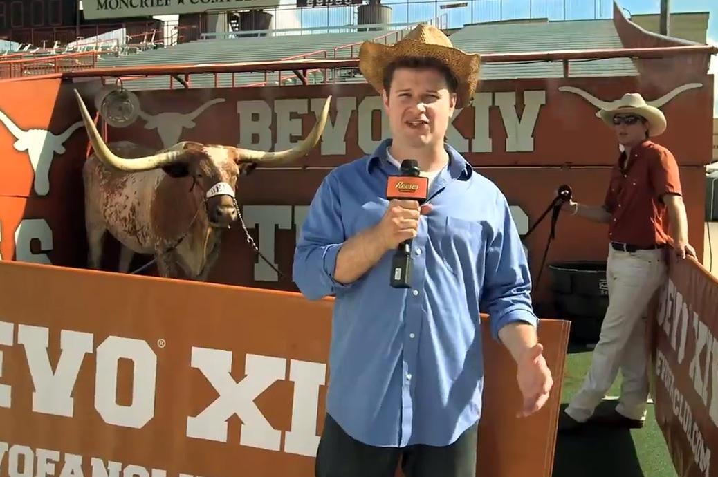 Texas Longhorns Mascot Bevo