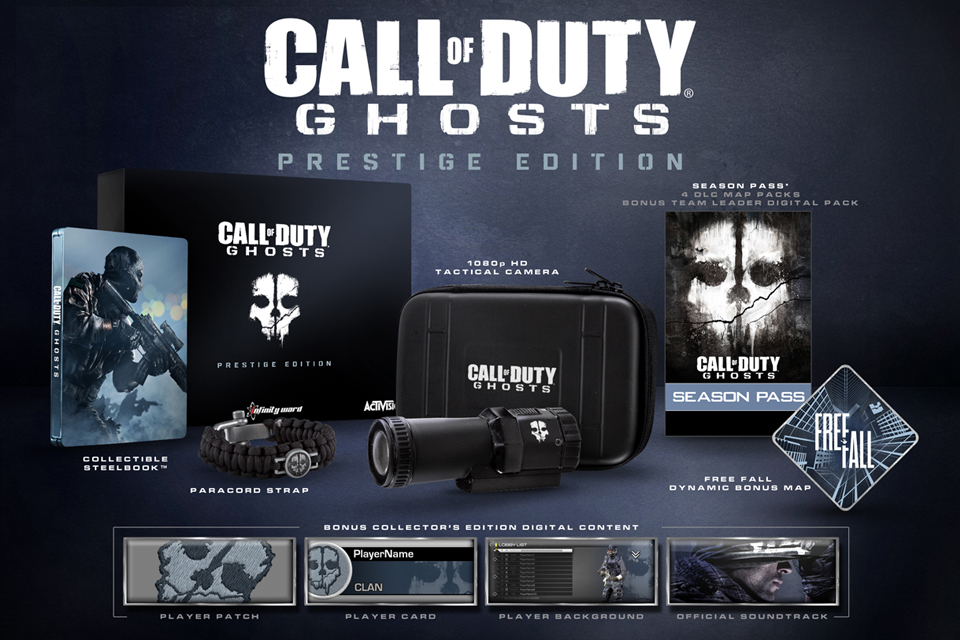 Call-of-Duty Ghosts: Prestige-Edition
