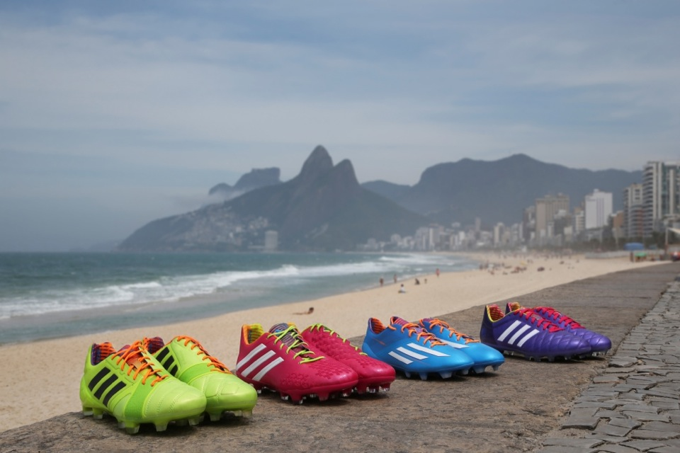 Adidas Launches Colorful Samba Collection
