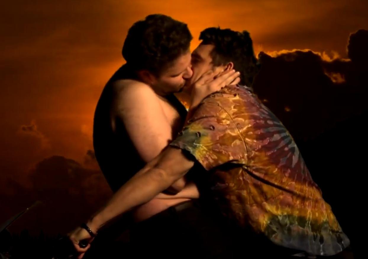 James Franco and Seth Rogen Parody Bound 2