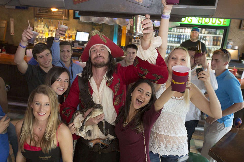 Captain Morgan Captain & Cola Event