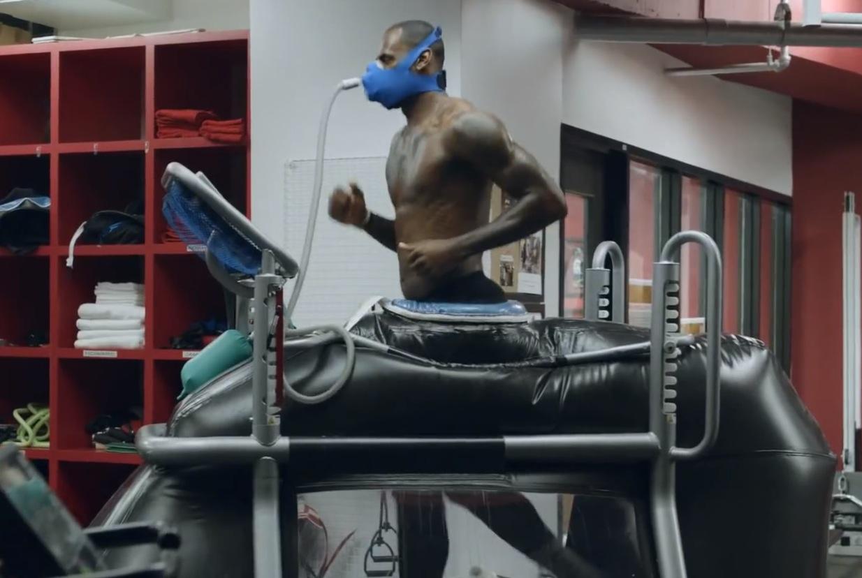 LeBron James At Work