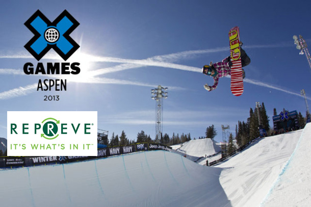 REPREVE at the X-Games