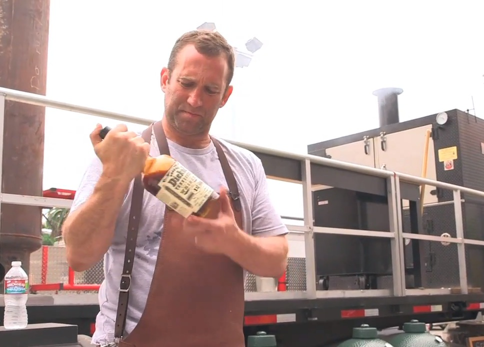 Adam Perry Lang: Cooking with George Dickel Whisky