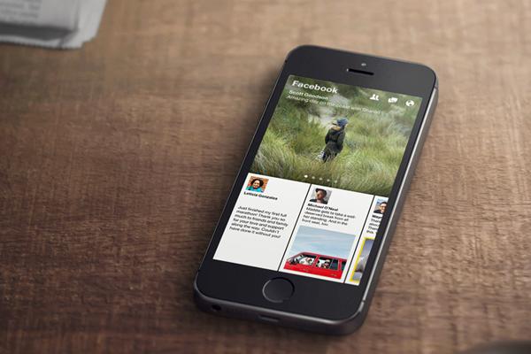 Facebook Paper iOS App