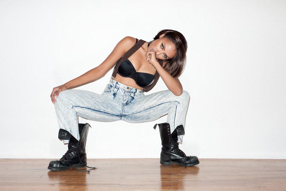 Kat Graham at Terry Richardon's Studio