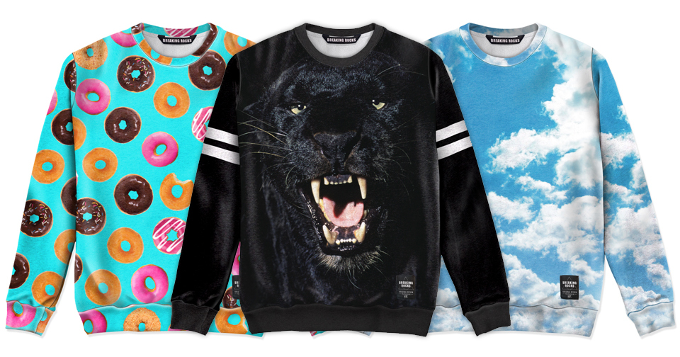 Breaking Rocks Sweater Collection