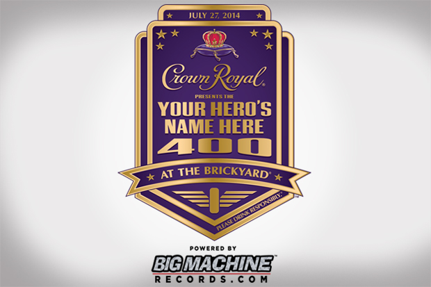 "Crown Royal's Annual ""Your Hero's Name Here"" Program"