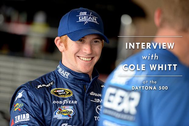 Cole Whit Daytona 500 Interview