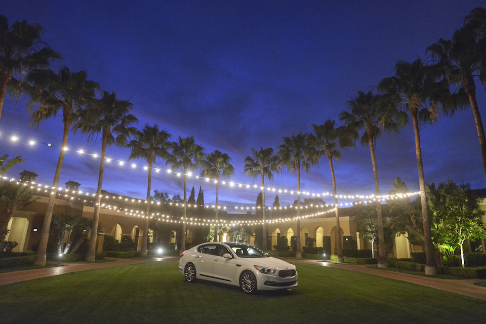 KIA K900 at Pelican Hill Resort in Newport Beach