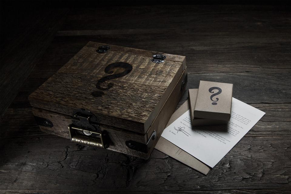 J.J. Abrams x theory11 - Mystery Box