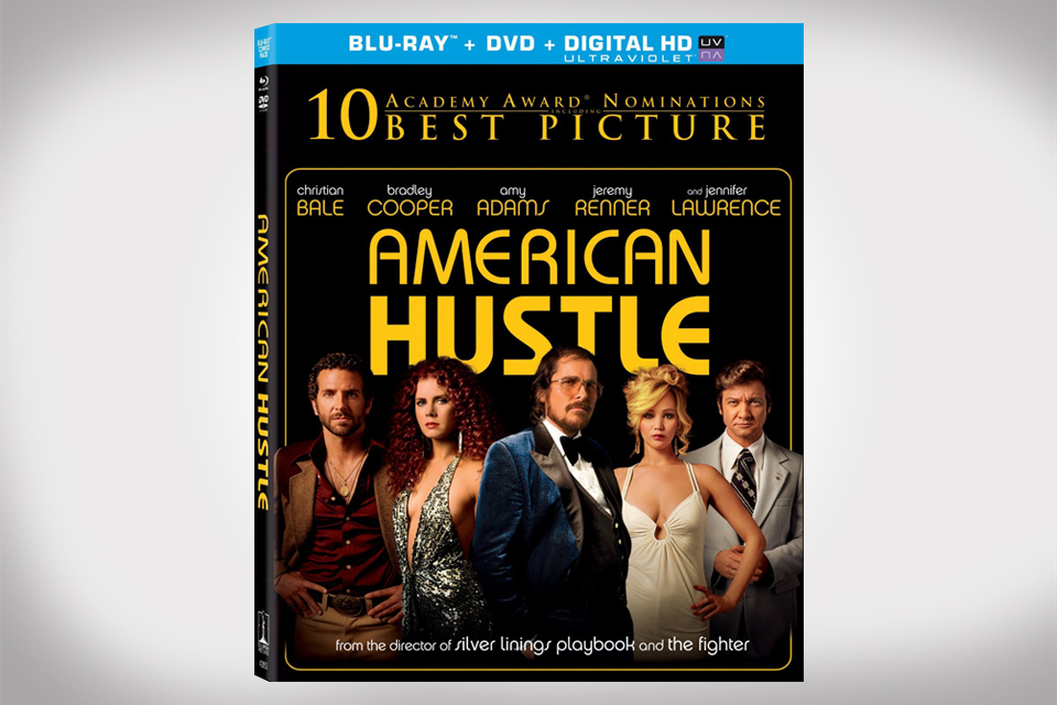 American Hustle on Blu-ray