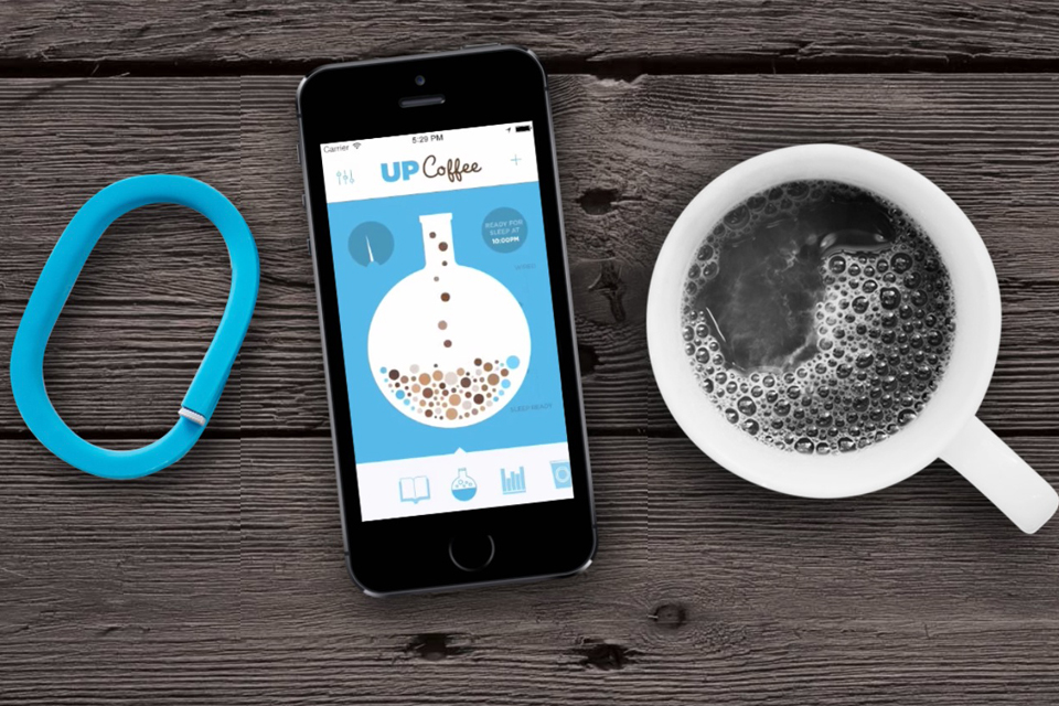 Up Coffee App by Jawbone