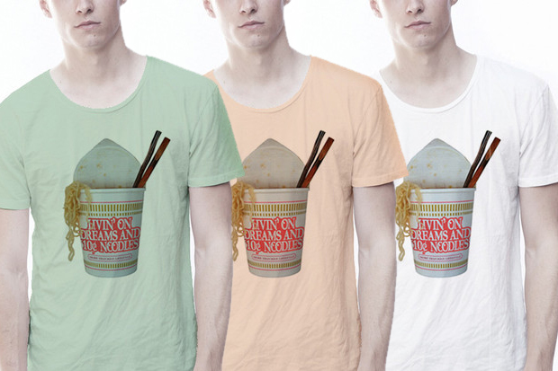 LOVE NAIL TREE Noodles Tee