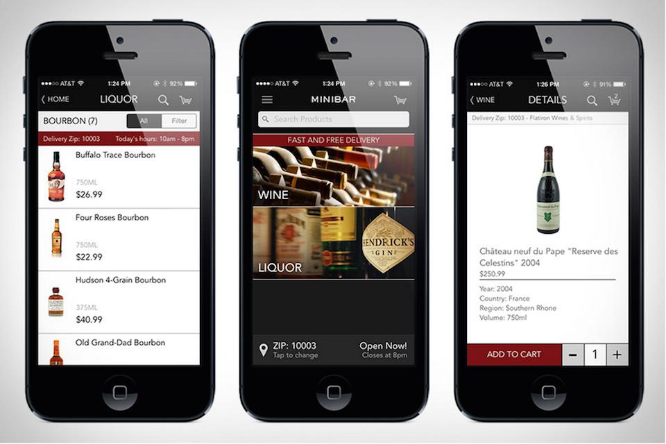 Minibar Delivery App